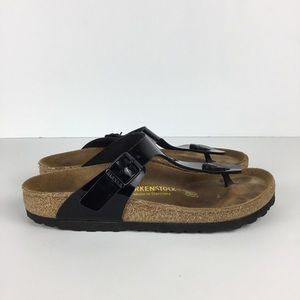 Birkenstock Patent Leather Sandals Size L7/M5